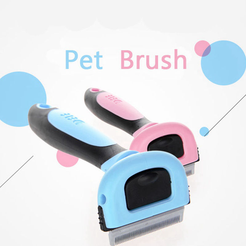 Pet Combs For Dogs Hair Remover Cat Brush Grooming Tools Detachable Clipper Pet Trimmer Combs For Cats Hair Groomer Products