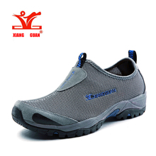 XiangGuan 2017high quality Walking shoes mesh surface Outdoor men and women shoes Breathable light antiskid size running shoes