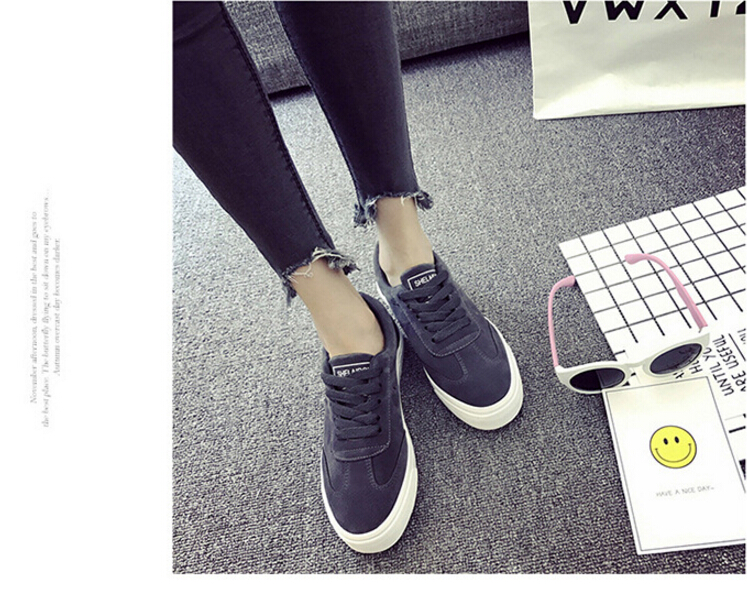 Free Shipping Spring and Autumn Men Canvas Shoes High Quality Fashion Casual Shoes Low Top Brand Single Shoes Thick Sole 7583 -  -  (6) -