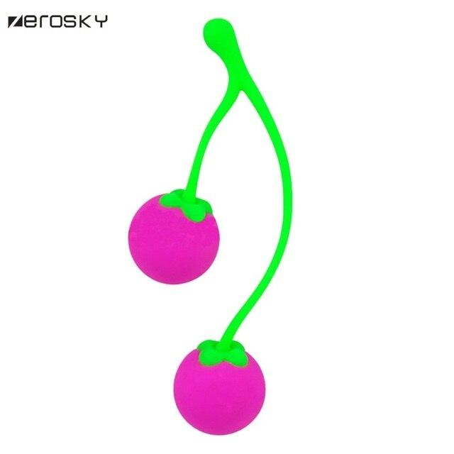 Zerosky Silicone Smart Ball Kegel Ball Ben Wa Ball Vagina Tighten Exercise Healthy  Sex Toys For Women Female