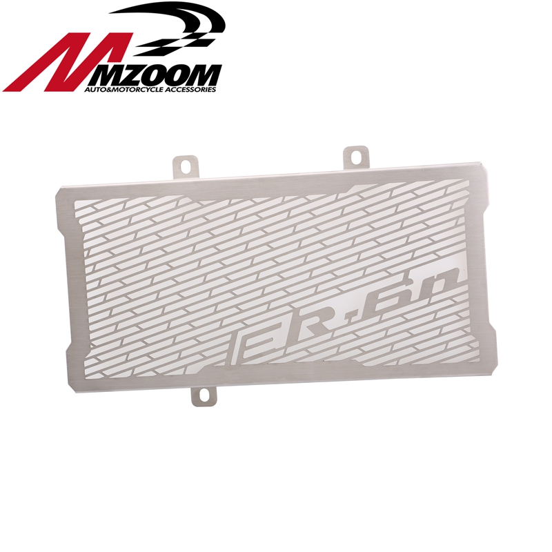 Motorcycle Accessories Radiator Grille Guard Cover Protector For Kawasaki ER6N ER-6N 2012-2016 motorcycle radiator grille grill guard cover protector golden for kawasaki zx6r 2009 2010 2011 2012 2013 2014 2015