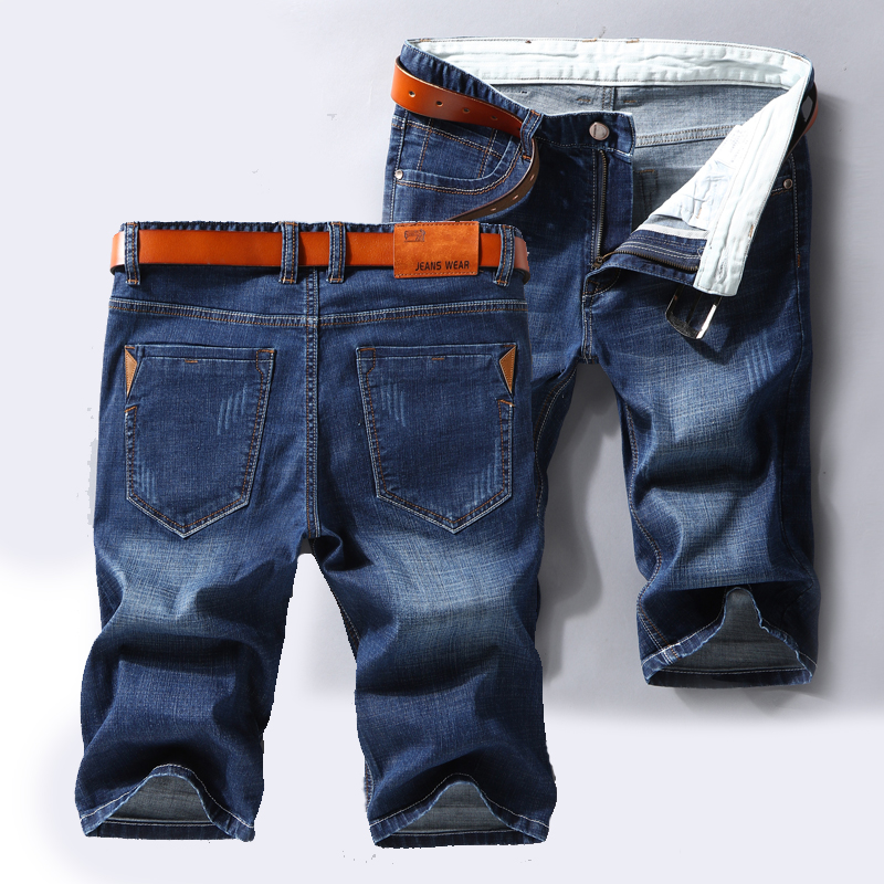 70df362f48f Men Clothes 2019 New Summer Fear of God Denim Cotton Shorts Stretch Casual Jeans  Men s Clothing