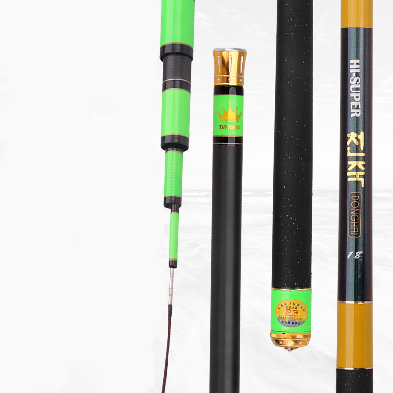 Ultra Light Fishing Rod River Stream Sea Taiwan Fishing Hand Rod High Carbon Strong Hard Fish Rod 3.6/3.9/4.5/4.8/5.4/6.3m high quality strong strength fishing rod high carbon super hard taiwan fishing rod ultra light stream fly fishing rod