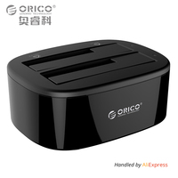 ORICO USB 3 0 To SATA Dual Bay Hard Drive Docking Station For 2 5 3