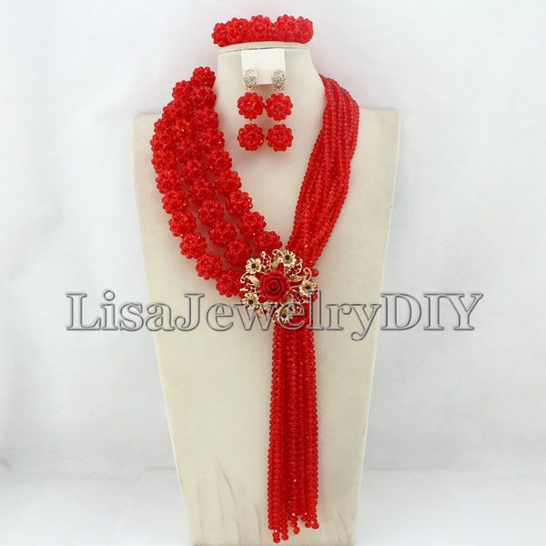 African Costume Jewelry Sets Nigerian Wedding African Crystal Beads Balls Jewelry Set Free Shipping     HD2361African Costume Jewelry Sets Nigerian Wedding African Crystal Beads Balls Jewelry Set Free Shipping     HD2361