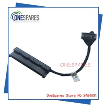 Free Shipping Original Laptop SATA hard disk drive HDD Cable for Dell For Inspiron 15 7537 HDD interface connector 50.47L05.001