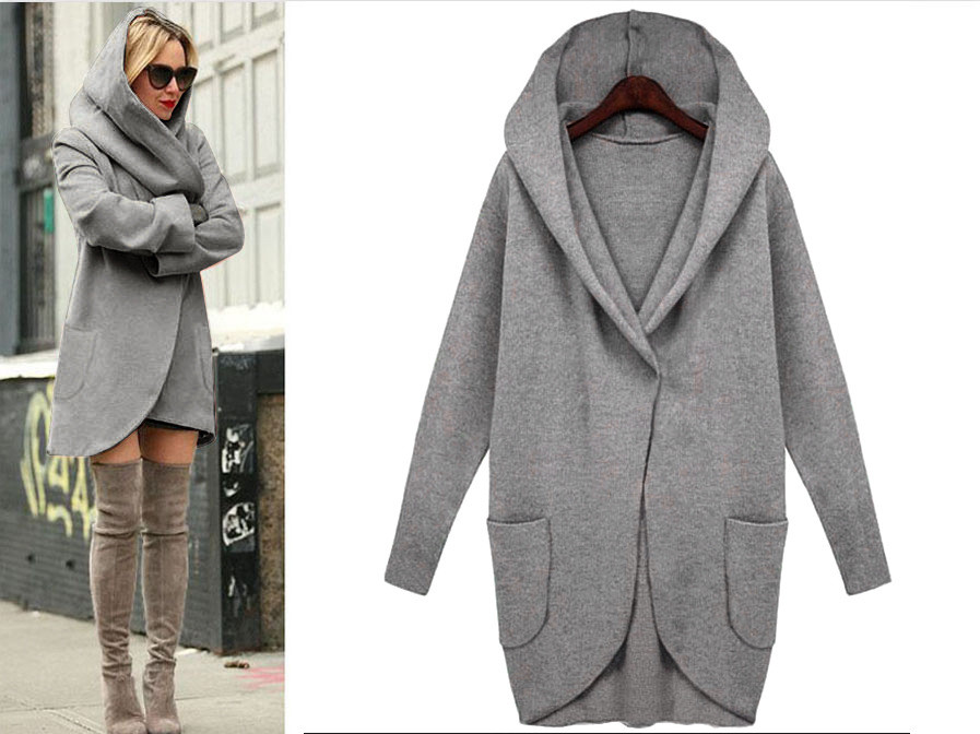 Online Get Cheap Hooded Cashmere Coat -Aliexpress.com | Alibaba Group