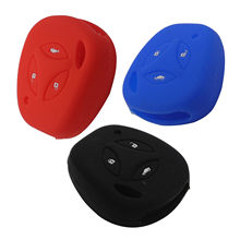 New Remote Car Key Fob Silicone Case Cover Protector For LADA Granta Largus 4X4 Kalina Priora Refit Key Case Bag(China)