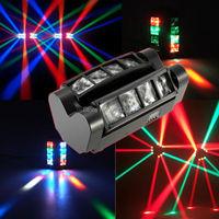 Hot Sale 8 10W Mini Led Dmx Spider Light RGBW Moving Head Beam Light Disco Dj