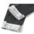 2017 calças de Brim das Mulheres de Todos Os Coincidir com Nova Primavera Denim Calças Lápis Cinza Escuro E Profundo Azul Clássico Calças Skinny Alta Qualidade calças de brim