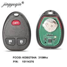 Clé télécommande 2 + panique 3 boutons, 315Mhz, KOBGT04A, pour Chevrolet HHR, upplander, 1c, Montana, SV6, relais Saturn, Buick, terra, 2005, 2006