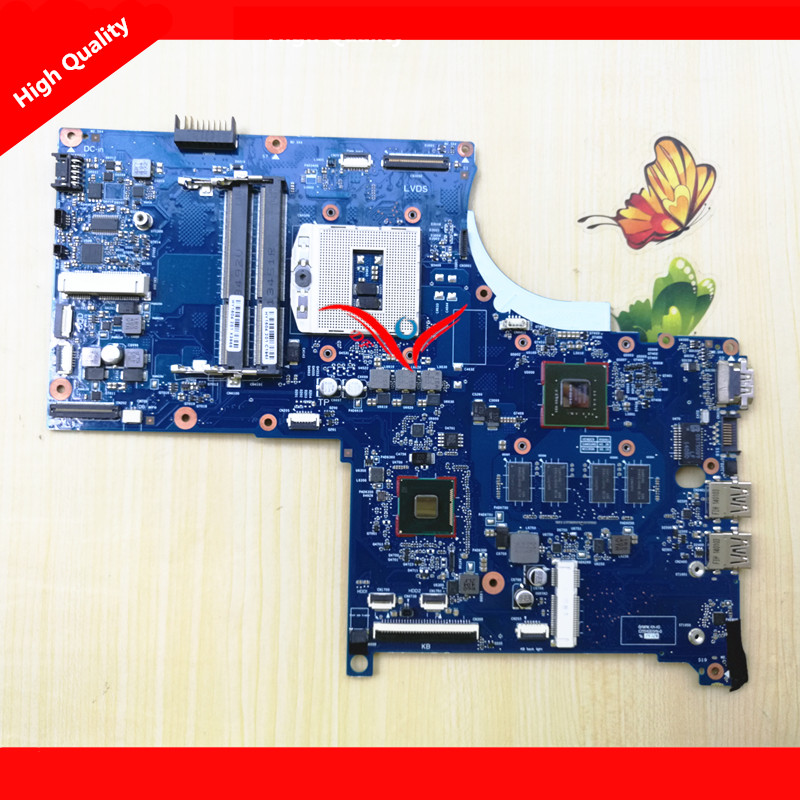 ФОТО 720266-501 For HP Envy 17 touchsmart 17 laptop Motherboard Notebook mainboard Nvidia GT 740M 2G