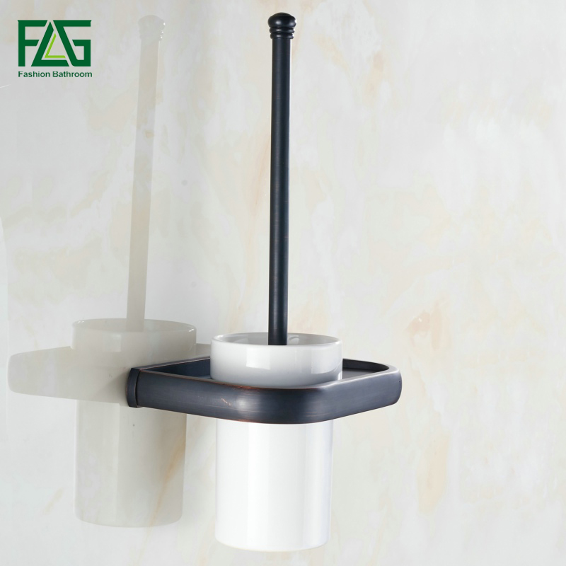 все цены на FLG Euro Toilet Brush Holder With Ceramic Cup Oil Rubbed Wall Mounted Bathroom Products Bathroom Accessories,Free Shipping 81305 онлайн