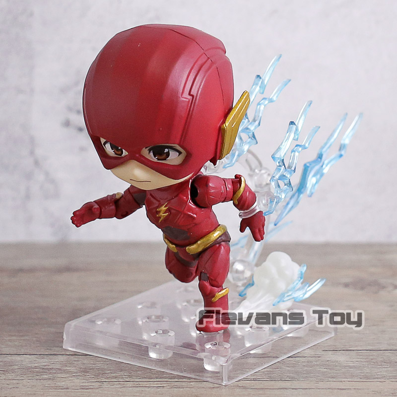 DC Comics Justice League Super Hero Flash Nendoroid 917 PVC Action Figure Collectible Model Toy Doll image