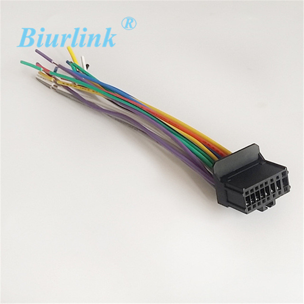 Biurlink Car ISO Harness Radio Wire Adapter for Pioneer 1500 2200 Stereo-in  Cables, Adapters & Sockets from Automobiles & Motorcycles on Aliexpress.com  ...