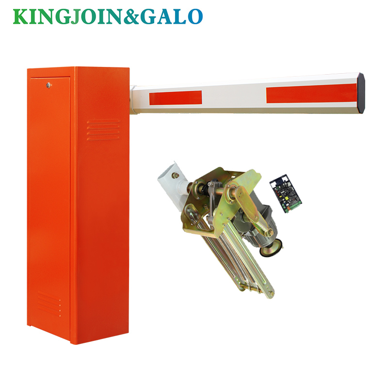 electric barrier gate for parking system and access control parking barrier gate system electric up and down boom barrier gate for vehicle access restrictions or safety checks
