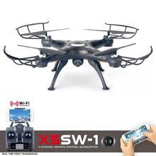 Peradix RC Drone X5XW-1 WIFI FPV Gyro Real Time Transmission RC Plane Quadcopter Drone Camera RTF Remote Control Airplanes Toys