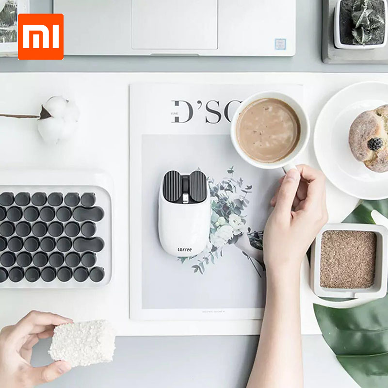 Xiaomi LOFREE Bluetooth Wireless Mouse 2 4G Bluetooth Dual Mode Connection Unique Gesture Function Multi system