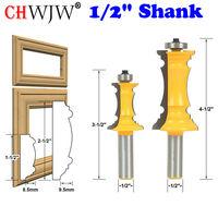 Mitered Door Drawer Molding 2 Bit Router Bit Set 1 2 Shank Chwjw 16266