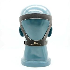 Image 5 - BMC Auto CPAP Neusmasker Siliconen Respirator 3 Size Kussens Met Verstelbare Hoofddeksels Band Voor Slaapapneu Anti Snurken