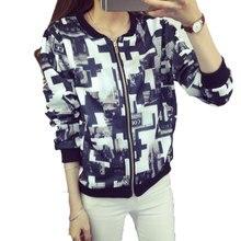 2017 Новых Куртки Женщин Теплый Повелительницы Пальто Куртки С Длинными рукавами Плюс Размер Куртки Бейсбол Куртка «Пилот»