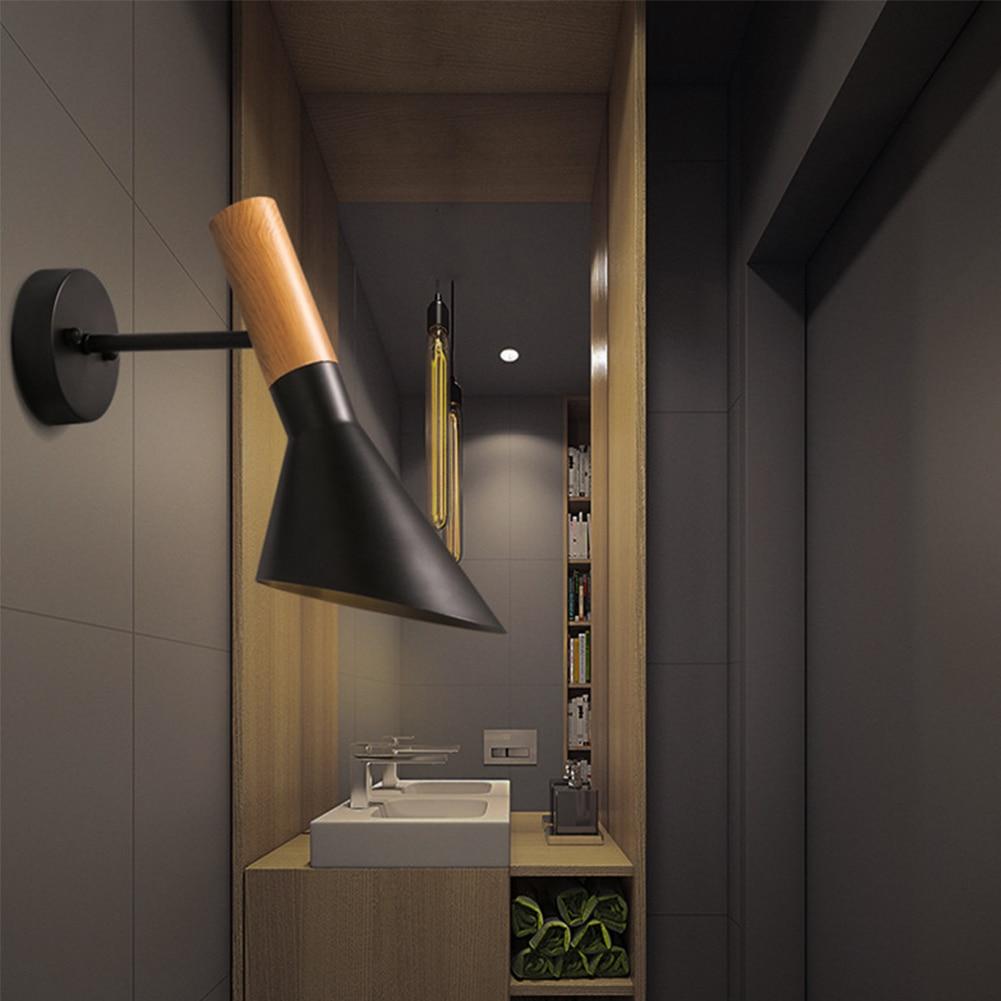 Hghomeart современный простой Nordic творческая личность светодиодный настенный светильник лампа гостиная ресторан проход спальня ночники