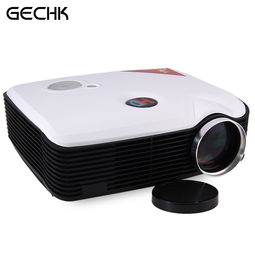 PH5 LED Projector Eink 5 Inch LCD TFT Panel Contrast Ratio 2000:1 2500 Lumens HD 1080P Projector With HDMI USB AV TV Inputs