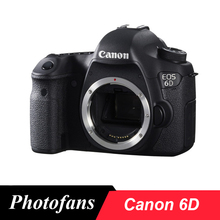 Canon 6D Full Frame DSLR Camera -20.2MP - Video - Wi-Fi (Bod