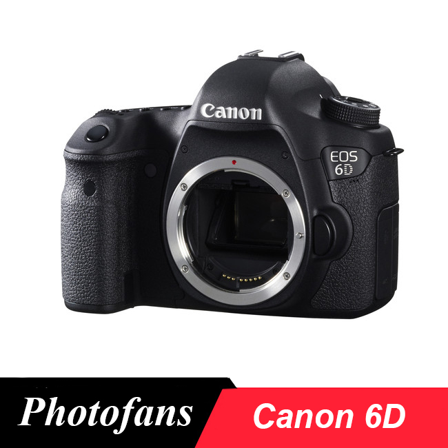 Canon 6D Full Frame DSLR Camera -20.2MP - Video - Wi-Fi (Body only,Brand New)