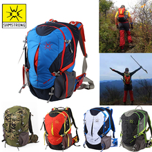 Samstrong Camping Backpack Mountaineering Adventure Backpacks Outdoor Top Packs Sports Men Women Bag HIking Climbing Bags 28L jungleking 2017 new men and women sports and leisure bags 45l outdoor mountaineering bags outdoor camping backpacks shoulder bag