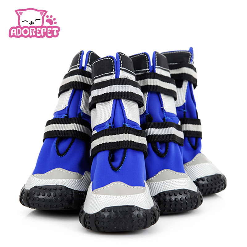 Large Big Dog sport Shoes Winter Waterproof Pet dog Puppy Martin boots non-slip outdoor pitbull golden retriever dog rain shoes