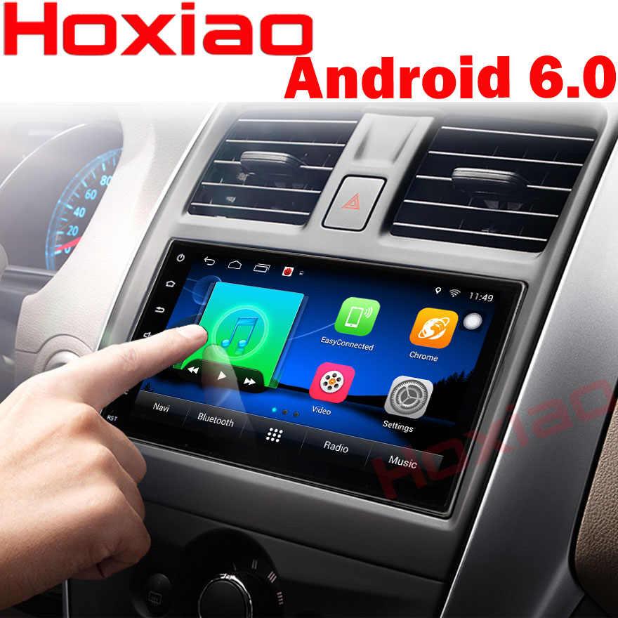 Coche DVD GPS para android 6.0 Jugador 2 din radio Nueva universal Multimedia de Navegación GPS Para Nissan Toyota Volkswagen Mazda BYD Kia VW