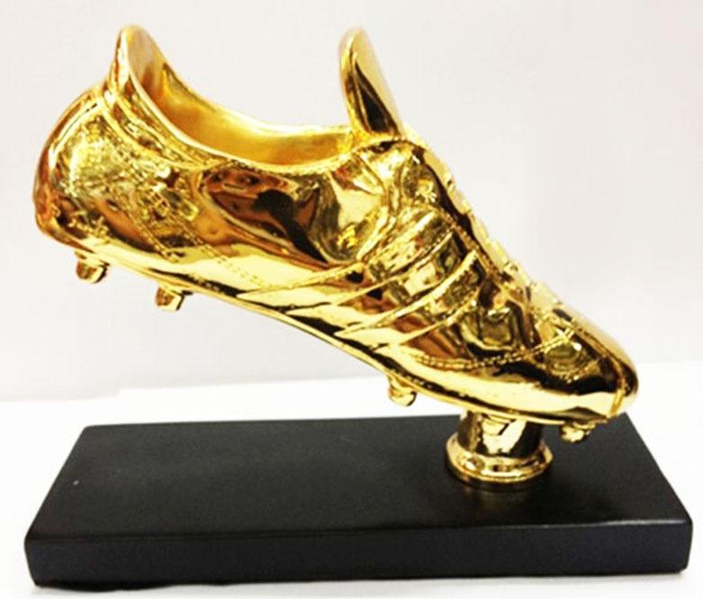 1:1 size Football Golden Boot Shoe Trophy Replica The Golden Boot Award football shoes fans souvenir