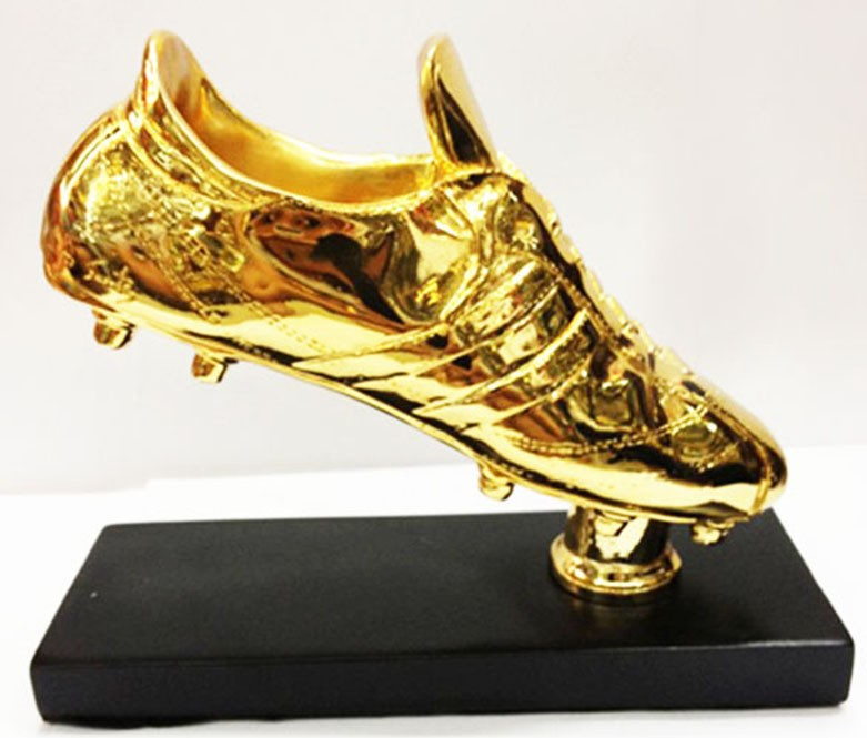 1:1 Size Football Golden Boot Shoe Trophy Replica The Golden Boot Award Football Shoes Fans Souvenir