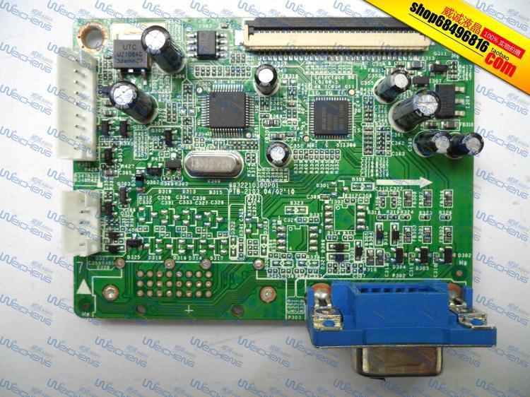 Free Shipping> V173 driver board logic board 48.7C004.011 -Original 100% Tested Working free shipping ha nnstar hc174 logic board 39 x1910100g000 driver board original 100% tested working