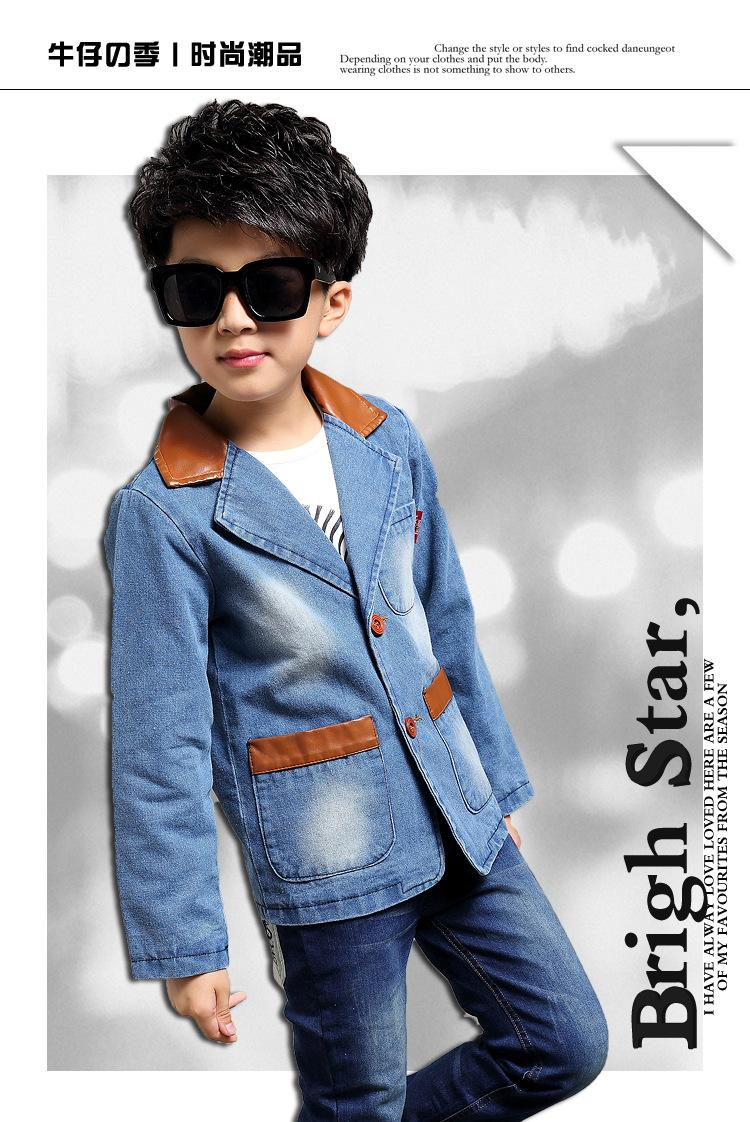 boys blazer 2015 Spring And Autumn New Style Years Children\'s ...