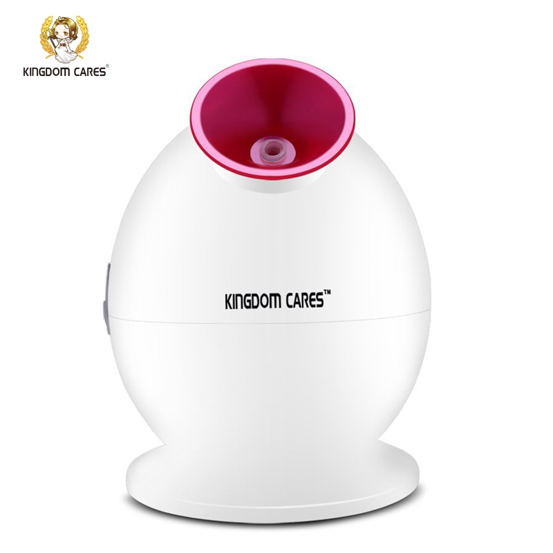 KINGDOM CARES Hot Mist Humidifier Sprayer Facial Steamer  Cleansing Anti-acne Pimples Pores Acne Mask  Moisturizing Skin KD-233 hot deep pore cleansing clay mask carbonated bubble anti acne moisturizing face mask 100g