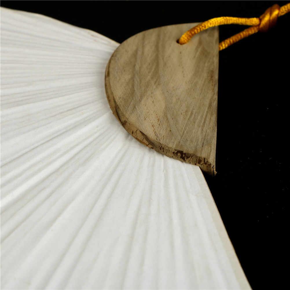 Heißer Verkauf Weiß Falten Elegant Papier Bambus Und Papier Hand Fan Hochzeit Party Favors 3 Größen 1pc