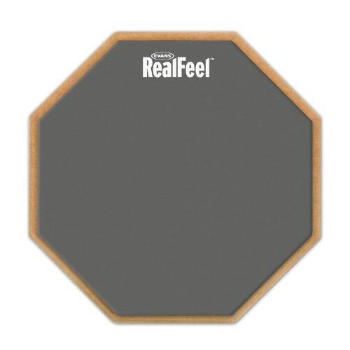 Evans rf6d realfeel 6 дюйм(ов) 2-сторонняя Скорость и практика тренировки Барабаны pad ...