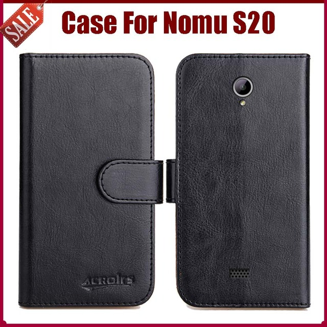 Hot Sale! Nomu S20 Case New Arrival 6 Colors High Quality Flip Leather Protective Cover For Nomu S20 Case