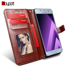 Thouport Case For Samsung Galaxy A5 2017 Flip Wallet Leather Cover For Galaxy A520 Samsung A5 2017 Case Full Soft Book Style(China)