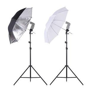 Image 5 - SH 플래시 ShoeMount 회전 소프트 우산 키트 사진 라이트 스탠드 및 홀더 타입 B