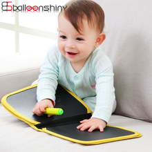 BalleenShiny Drawing Board Toys Baby Early Education Funny Creative Coloured Chalk Canvas Book Doodle Board Blackboard Kids Toys