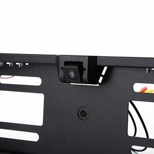 Image 5 - 16 LED europejska ramka do tablicy rejestracyjnej samochodu do tyłu aparatu CMOS HD widok z tyłu kamera Auto Dash kamera kamery