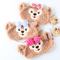 New Kawaii 1pcs Duffy Bear Shelliemay Soft Plush Eye Mask Cute Cartoon Nap Patch Kids toy Girl Friend Gifts
