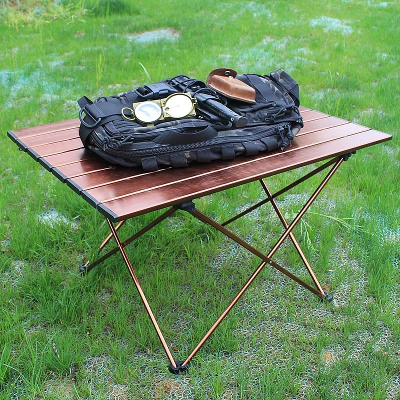 Picnic Desk Portable Folding Aluminium Alloy Ultralight Outdoor Camping Table US