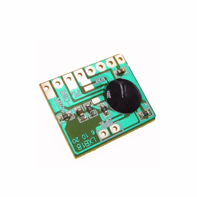 2PCS ISD1806 6S Sound Recordable Chip IC Voice Music Talking Recorder Module 8ohm Speaker Electronic Gift Greeting Card 3-4.5V