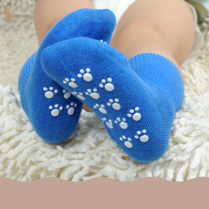 Spring Autumn Cotton Baby Socks Candy Color Anti Slip Soft Socks Newborn Toddler Baby Girl Boy Socks For 1-3 Years