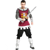 New Ancient Roman Gladiator Role Play Costumes Halloween Male Costumes Export Warrior Costumes Cosplay L1891063