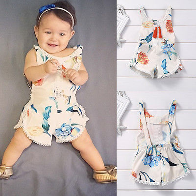 Cotton-Newborn-Kids-Baby-Girl-Sleveless-Lace-Romper-Lily-printing-Jumpsuit-Clothes-Sunsuit-Outfits-5